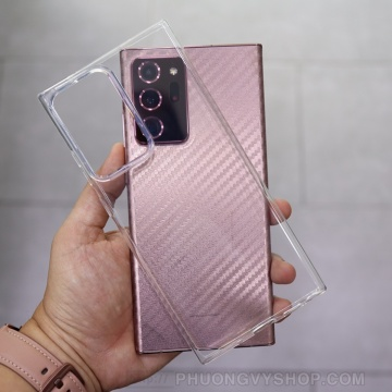 Ốp dẻo trong Galaxy Note 20 Ultra